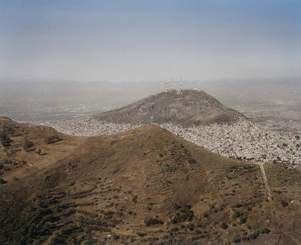 Мехико с высоты птичьего полета