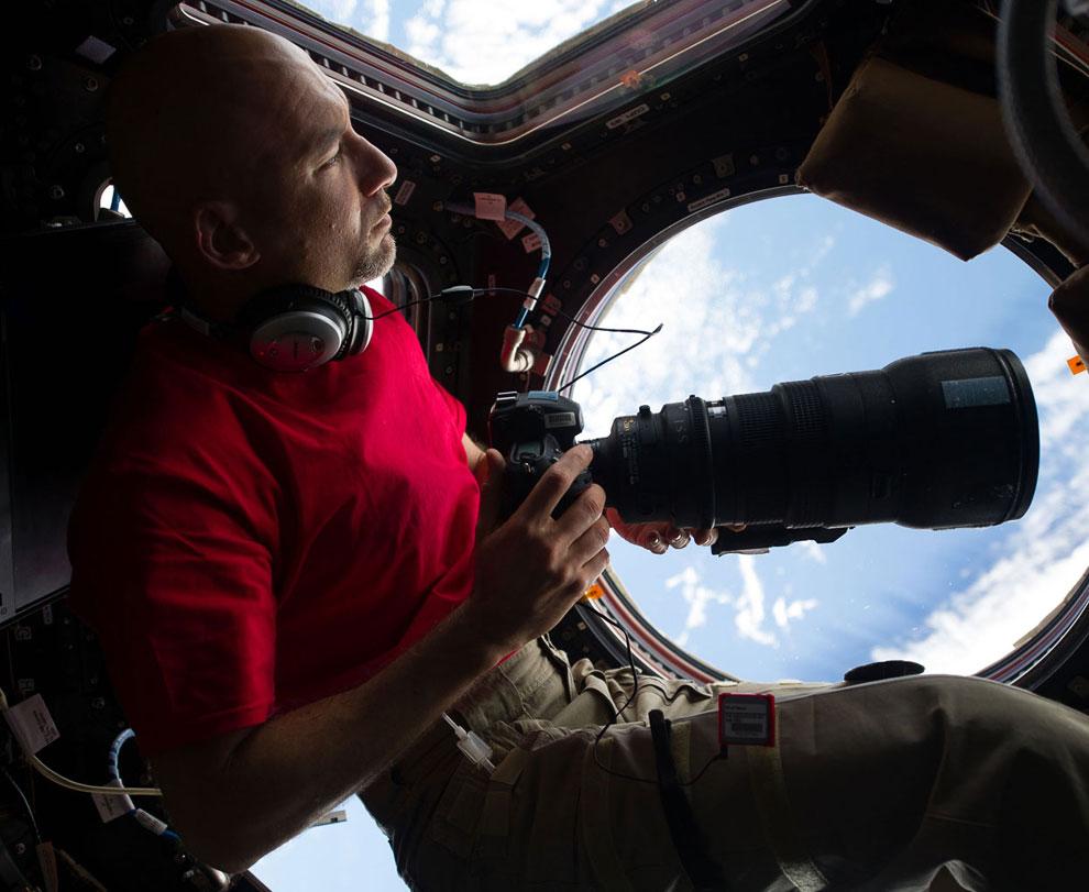 Итальянский космонавт ЕКА Лука Сальво Пармитано