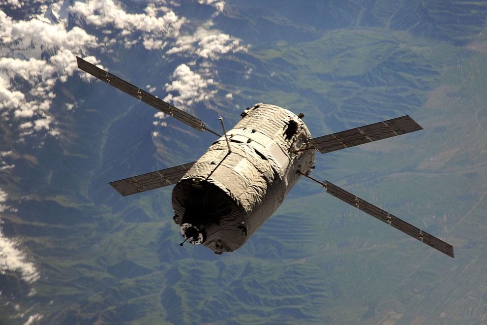 К МКС подходит «Альберт Эйнштейн» — европейский автоматический грузовой космический корабль