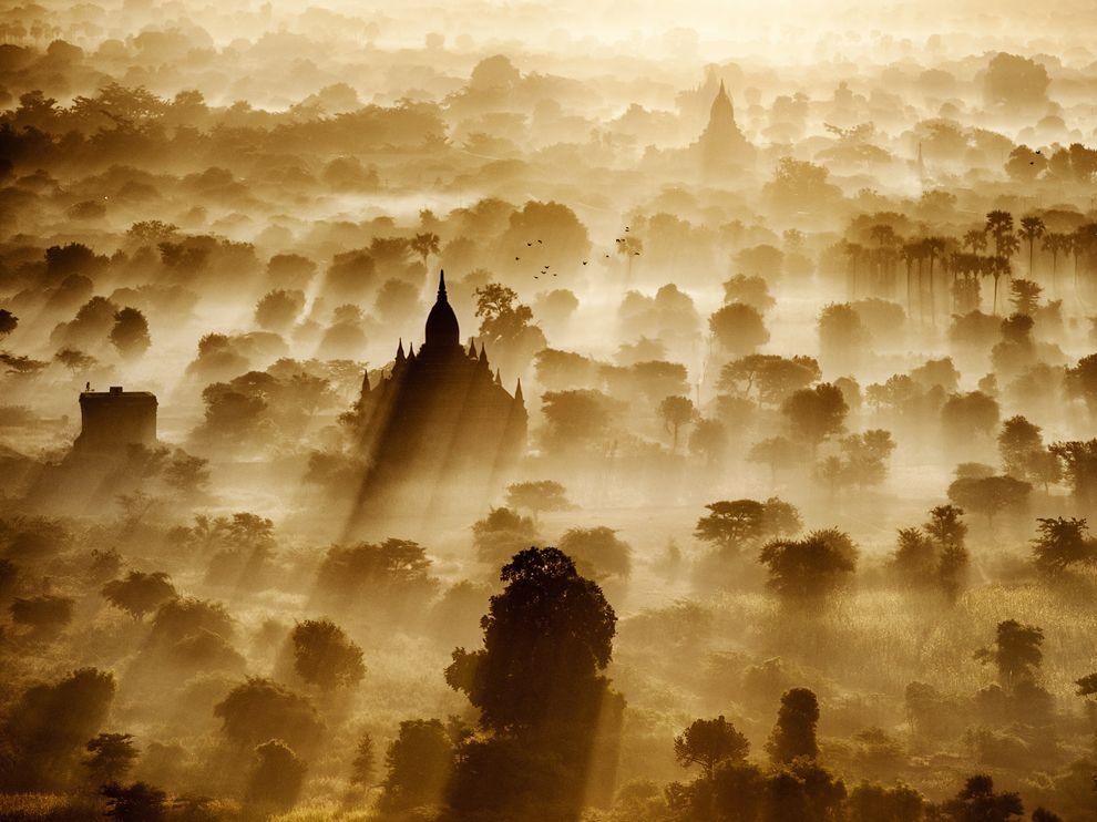 Путешествие на воздушном шаре, Мьянма