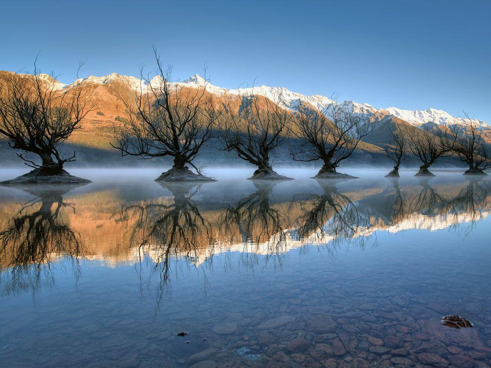 Озеро Уакатипу, Новая Зеландия
