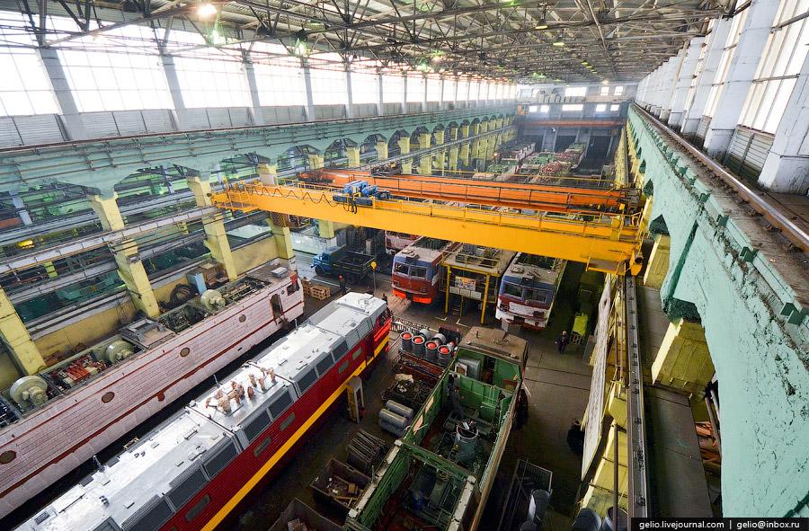 Новосибирский электровозоремонтный завод (НЭРЗ)