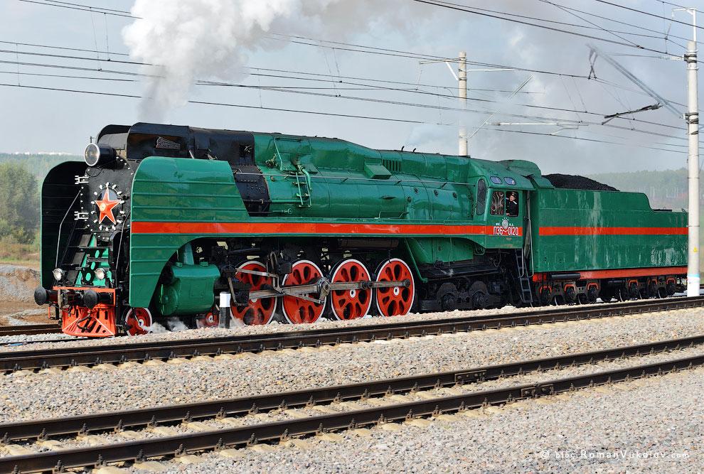 Пассажирский паровоз серии П36