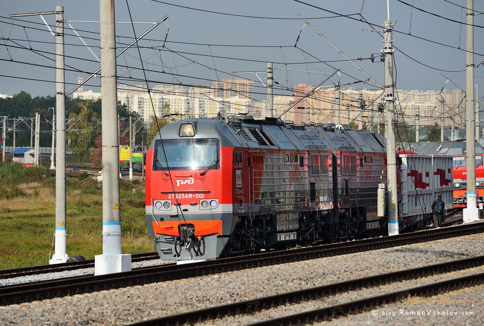Грузовые тепловозы 2ТЭ25А выпускаются с 2006 года