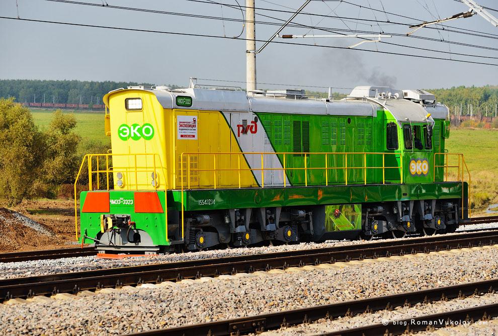 Модернизированная версия старого чехословацкого маневрового локомотива ЧМЭ3