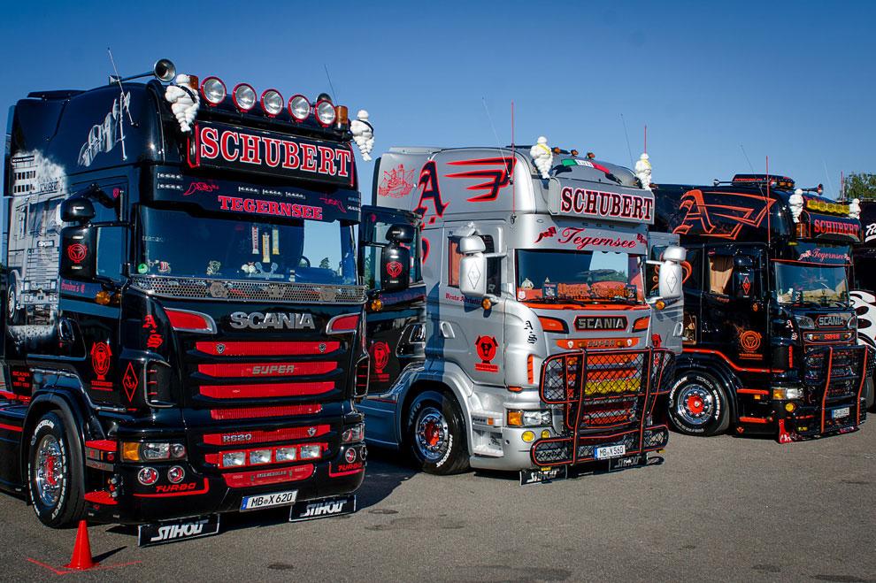 Фестиваль самых впечатляющих грузовиков
