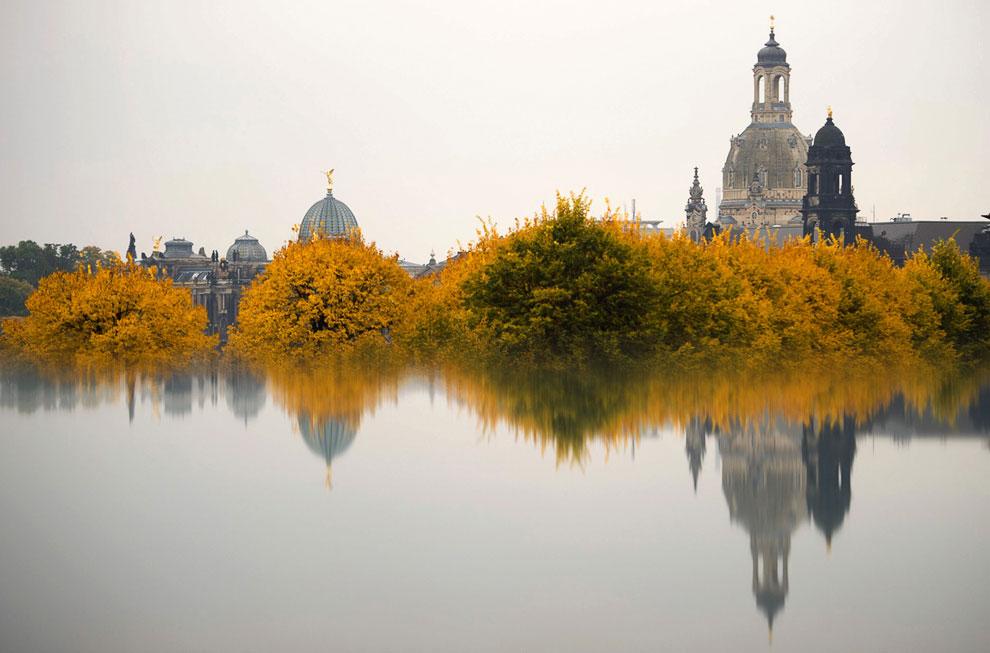 Церковь Богоматери (Фрауэнкирхе) в Дрездене, Германия