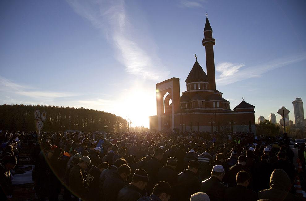 Праздник жертвоприношения в Москве