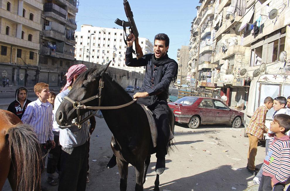 В Сирии Праздник жертвоприношения без оружия — не праздник. Алеппо