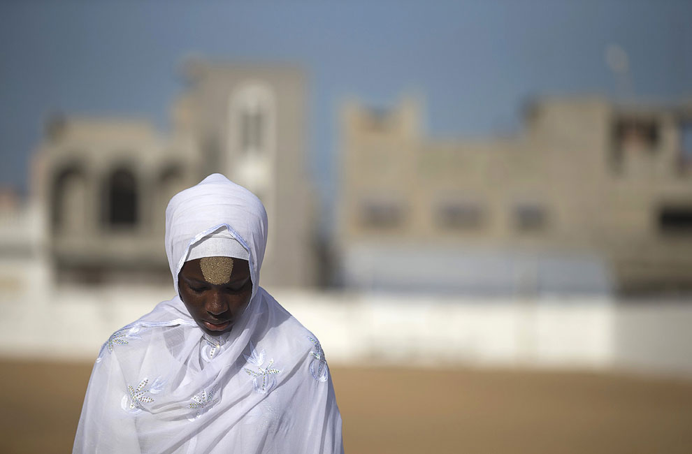 Мусульманка в Дакаре, Сенегал