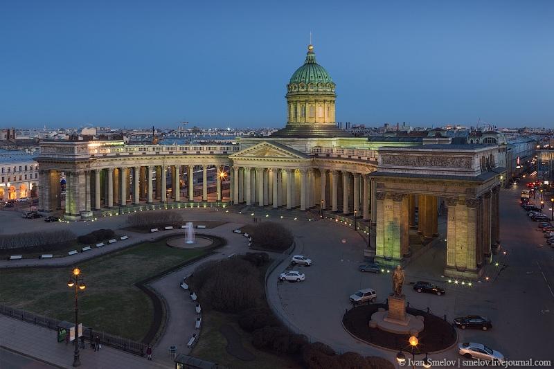 Казанский собор во всей своей красе