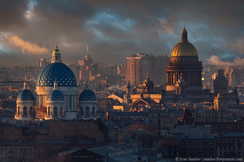 Две Питерский твердыни — Исаакий и Троицкий собор