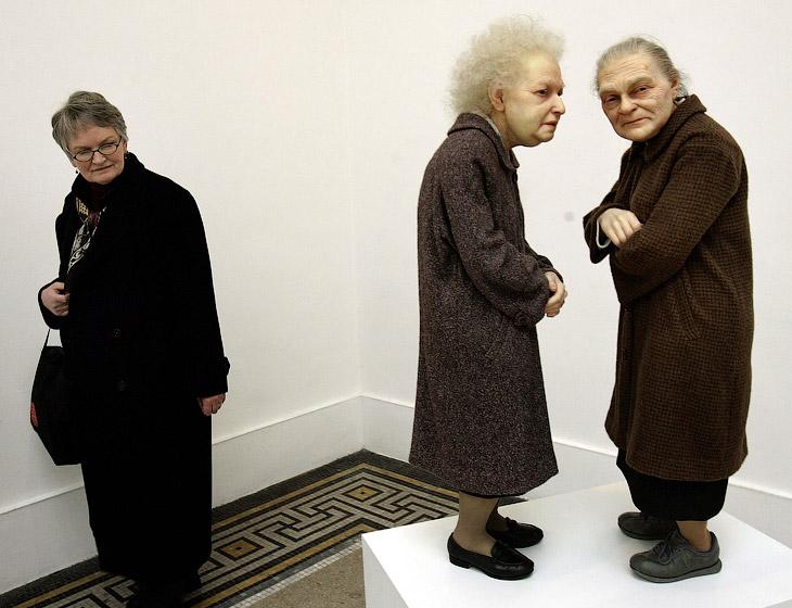 Скульптура «Две женщины» в Бруклинском музее