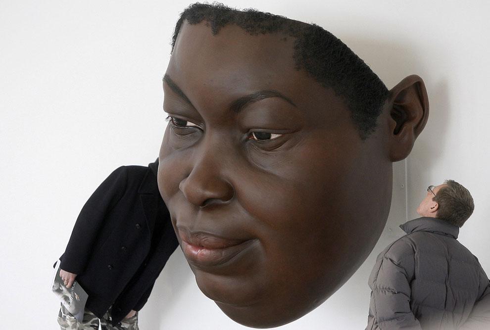 Скульптура «Маска III»