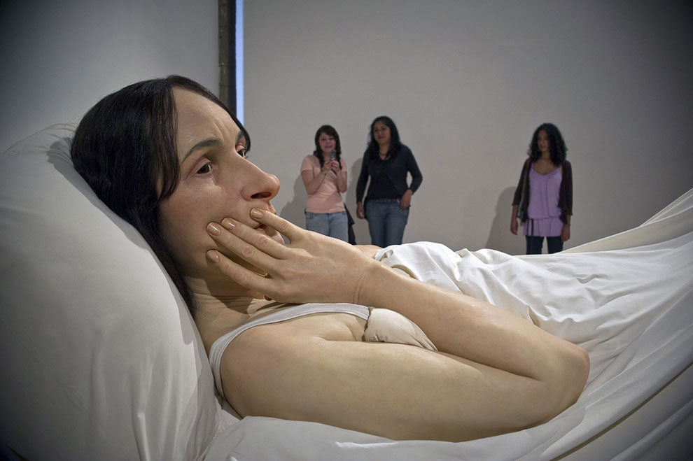 Скульптура «В постели»