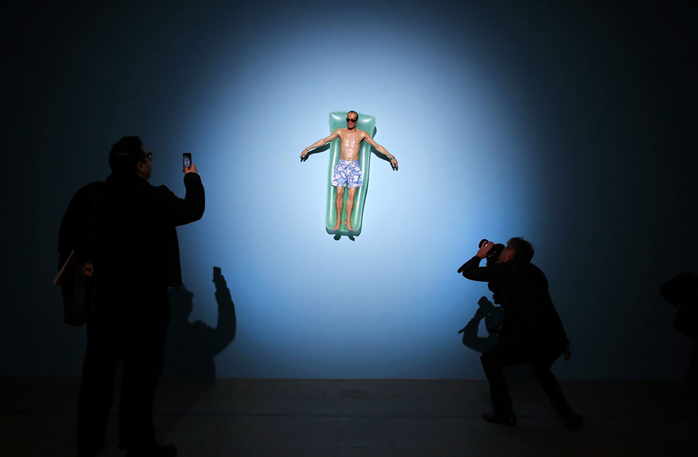 Скульптура «Дрейфующий»