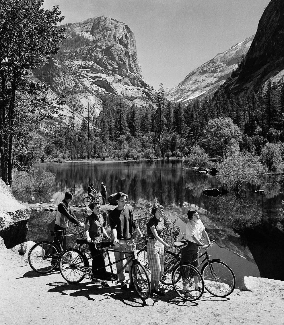 С давних пор велосипеды являются излюбленным средством передвижения в Национальном парке Йосемити