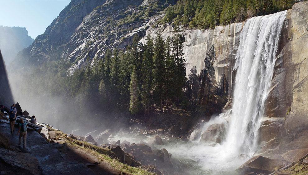 Водопад Вернал