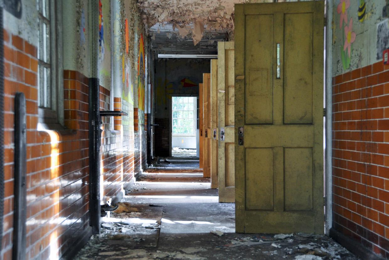 Бывшая психиатрическая больница в графстве Суррей, Великобритания