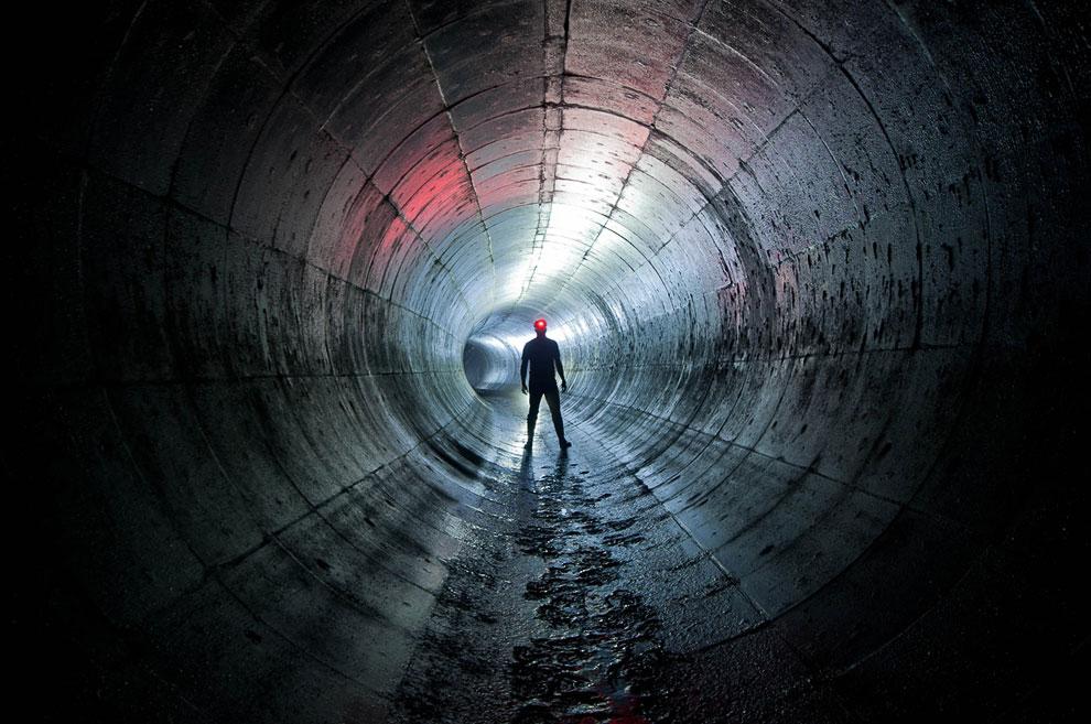 Подземные коммуникации в Лондоне