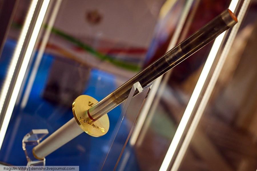 Выставка Олимпийских факелов