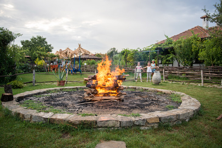 Деревня огнеборцев