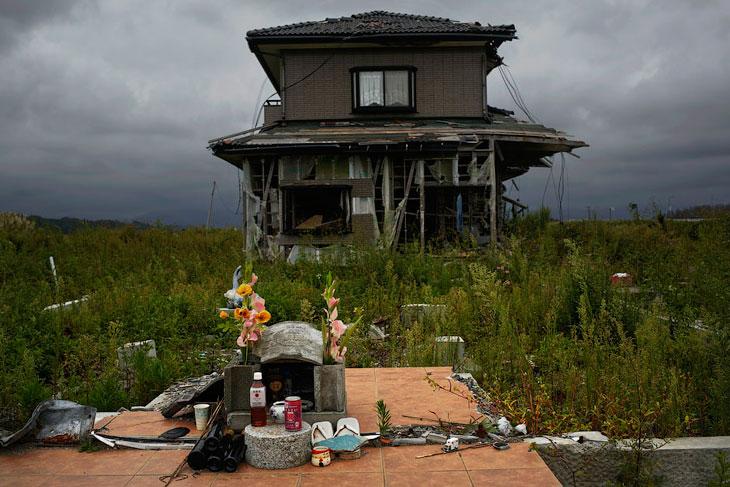Город-призрак Намиэ в префектуре Фукусима