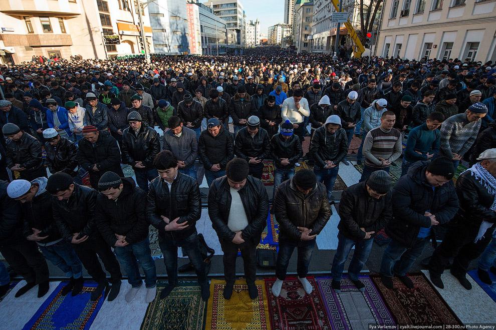 Другая Москва: Курбан-байрам 2013