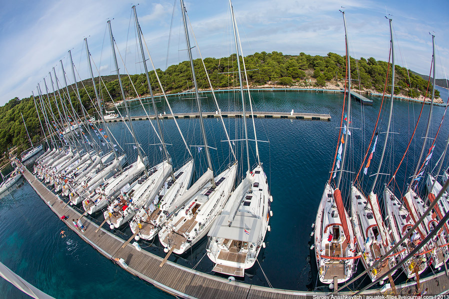 Яхтенные марины в Хорватии
