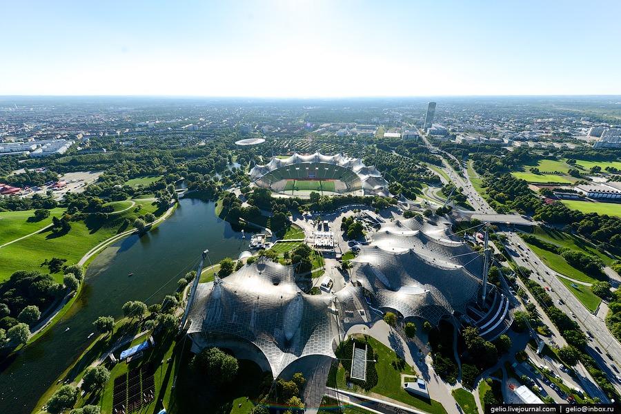 Олимпийский бассейн, Олимпийский зал и Олимпийский стадион