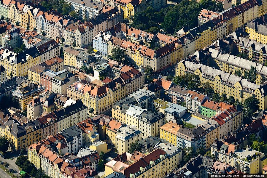 Жилые кварталы Мюнхена