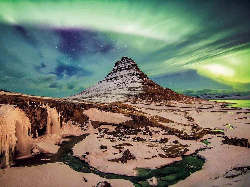 Гора Киркьюфелл, Исландия