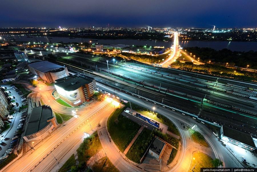 Развязка перед Димитровским мостом