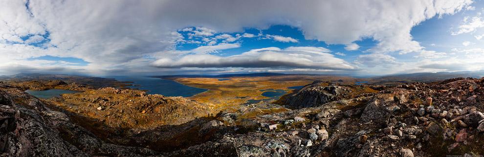Золотая осень на Кольском полуострове. Дорога домой