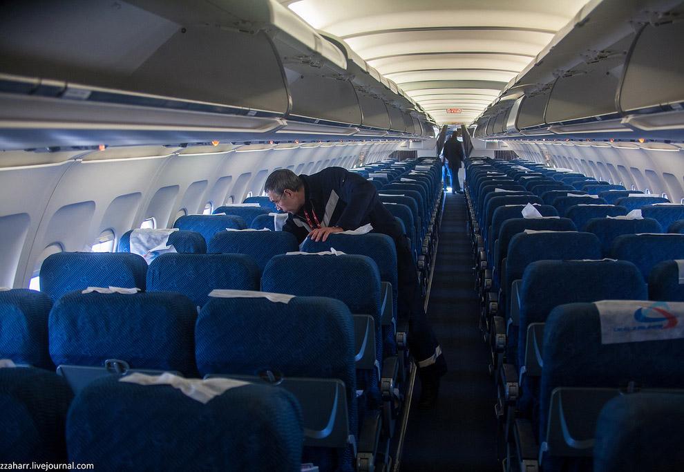 Как готовят самолеты перед вылетом