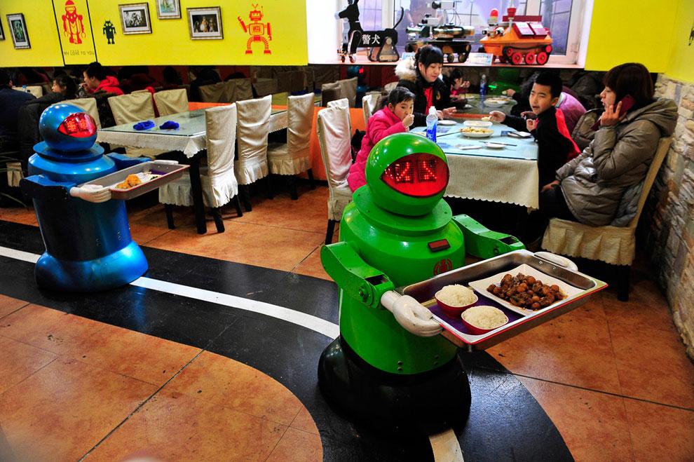 Ресторан в Харбине, провинция Хэйлунцзян, Китай