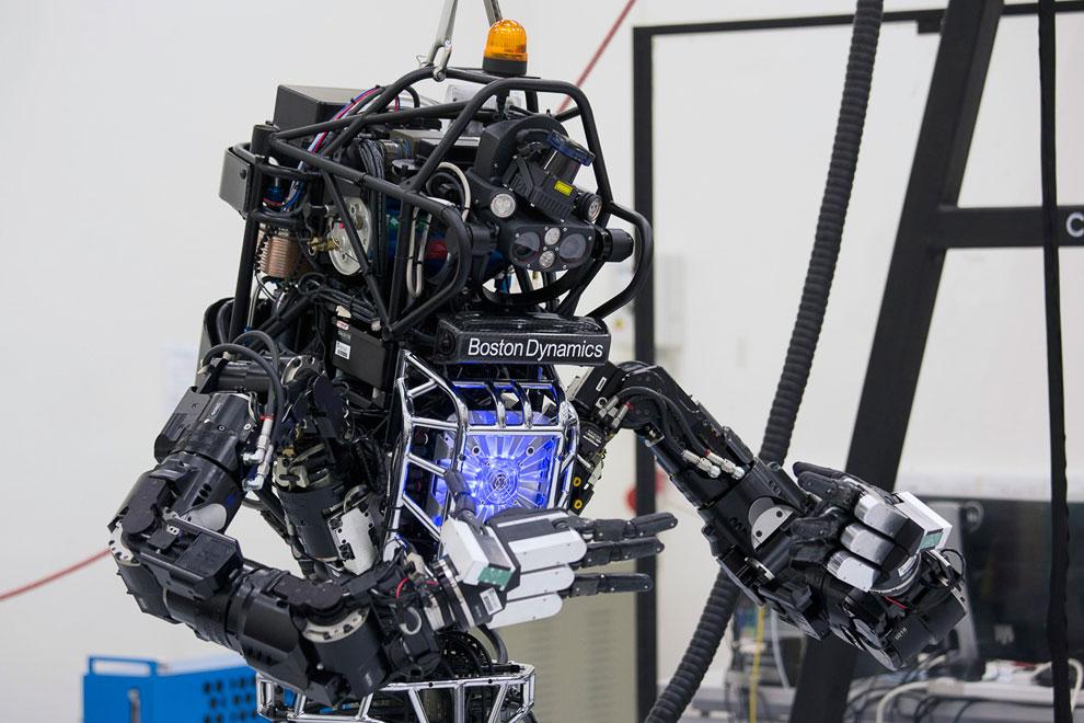 Человекоподобный робот «Атлас»