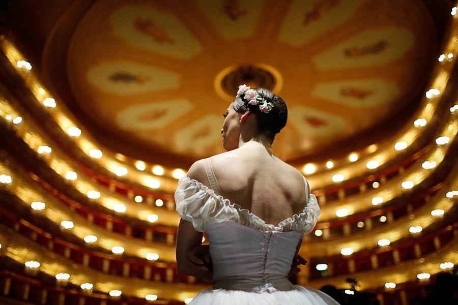 Балерина в Большом театре