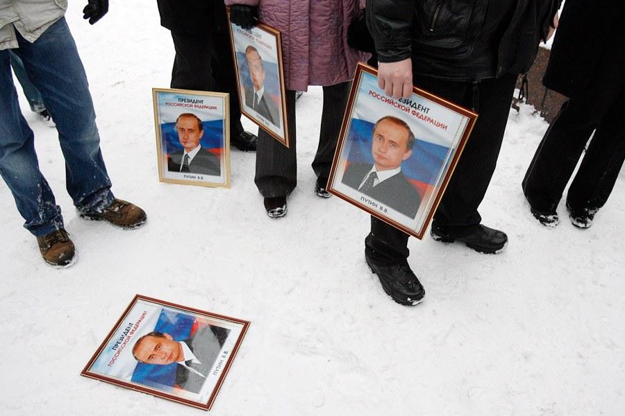Акция протеста в Москве