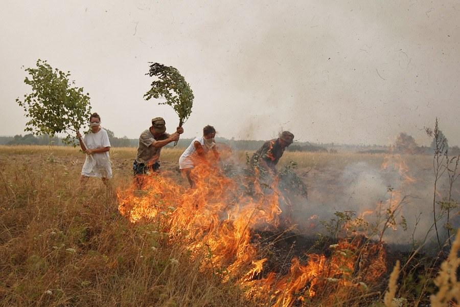 Природные пожары в России в 2010 году