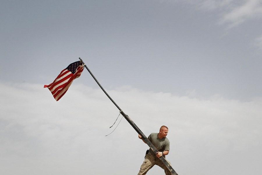 Афганистан и американский солдат