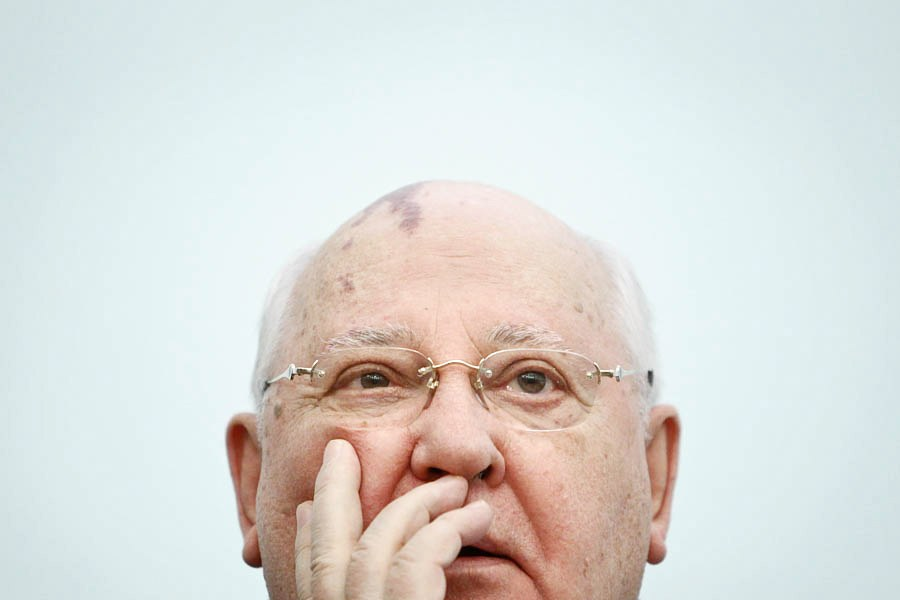 Михаил Горбачев в Международном университете в Москве