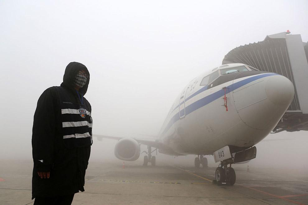 Супер-смог в Китае