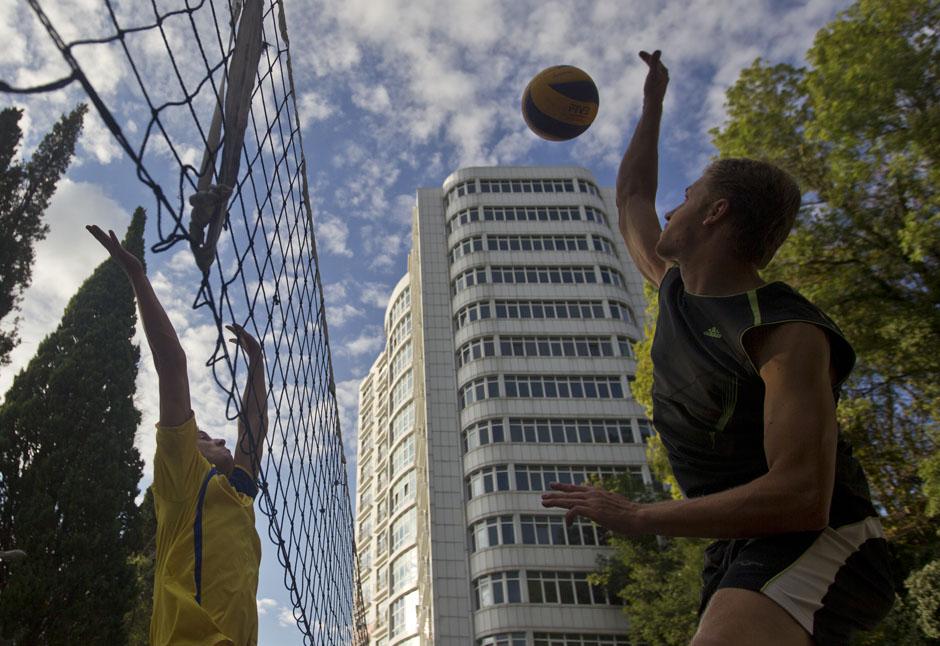 Волейбол в парке Сочи