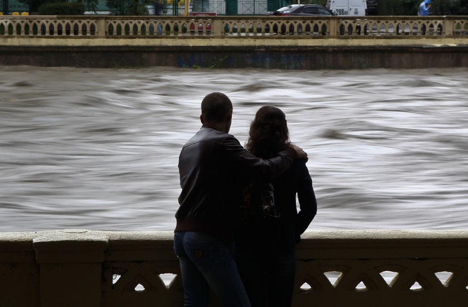 В сентябре в Сочи прошли многочисленные ливни, которые не раз затапливали город