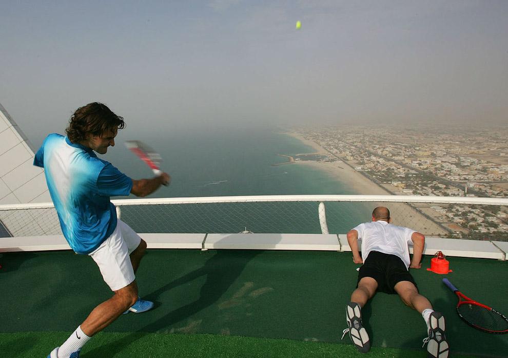Легендарный теннисист Роджер Федерер
