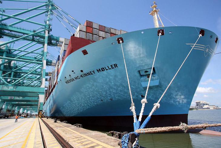 Контейнеровоз Maersk Mc-Kinney Møller