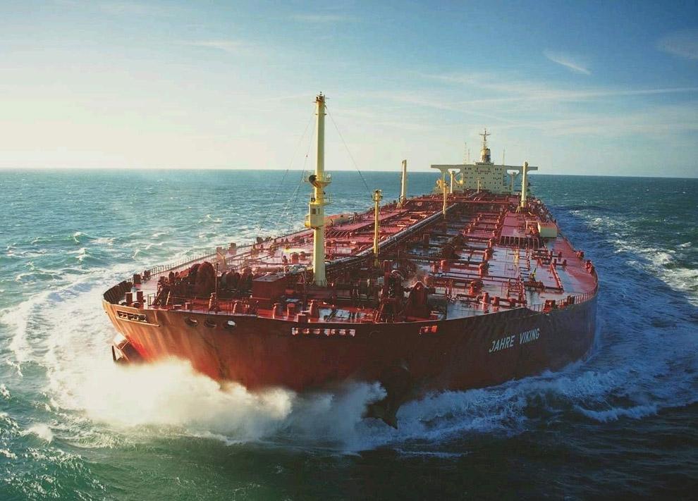 Супертанкер Knock Nevis — крупнейшее судно мира