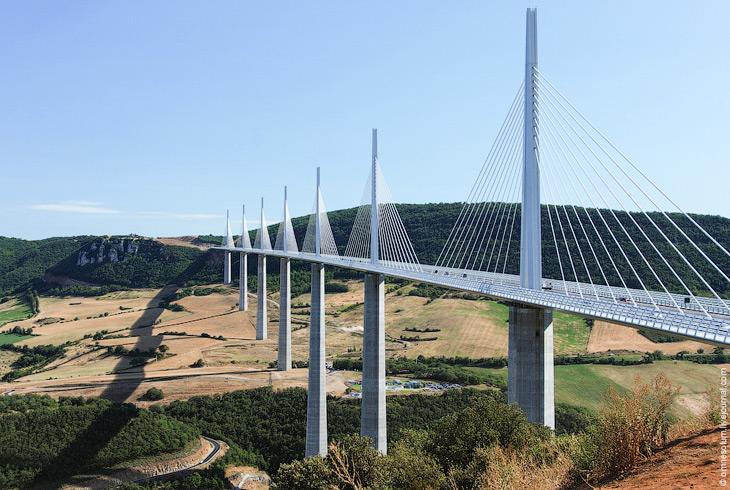 Виадук Мийо—рекордсмен среди мостов