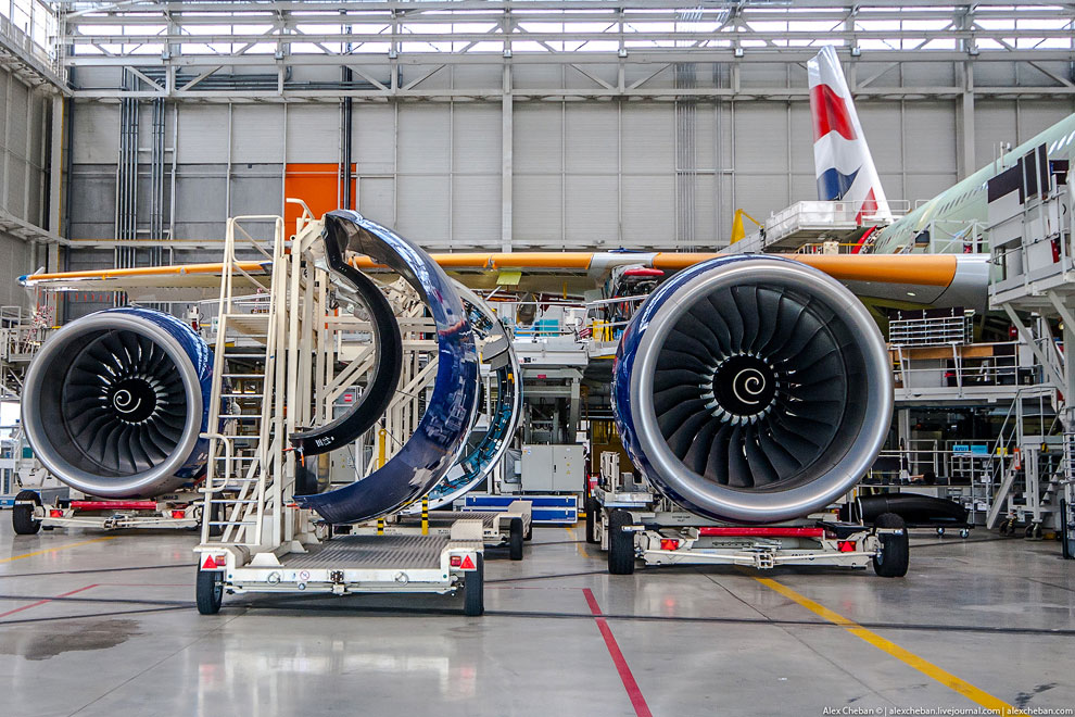 Как делают самый большой в мире пассажирский самолет